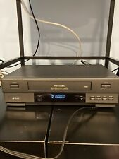 New listing Toshiba W-403 Vcr 4 Head Video System & Recorder No Remote Turns on & Takes Tape