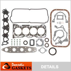 Fits Suzuki Swift Chevy Metro 1.3 Full Gasket Set G13BB G13S