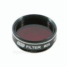 """GSO 1.25"""" Color / Planetary Filter - #25 Red"""