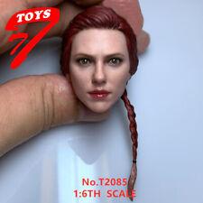 "TTTOYS 1/6 Black Widow Scarlett Head Sculpt Pre-sale  F 12"" Female Action Figure"
