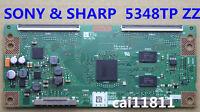 SHARP T-Con Board CPWBX RUNTK 5348TP ZZ SONY KDL-60R550A JE600D3LC5N Logic board