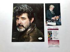 George Lucas Rare! signed autographed Star Wars 8x10 Photo JSA Spence cert