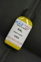 RAL 1003 SIGNAL YELLOW TOUCH UP KIT REPAIR KIT PAINT WITH BRUSH SCRATCH PAINT