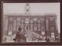 Rome Roma Capitole Italie Italia Photo amateur Vintage citrate 1898