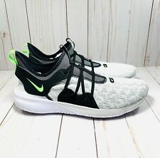 Nike Flex Contact 3 White Neon Green Men's Size 11 Running Casual Shoes