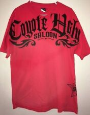 COYOTE UGLY Memphis Saloon BAR Men's Red T- Shirt, Size Large, NEW!