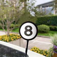 1x Black Eight 8 Ball Car Auto Antenna Aerial Pen Topper Decoration Accessories