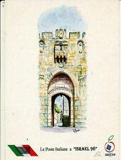 Israel 1998 Tel Aviv Stamp Exhibit Italy Show Card
