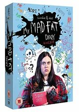 My Mad Fat Diary Complete Collection 1-3 DVD Box Set All Seasons 1 2 3 UK R2 NEW
