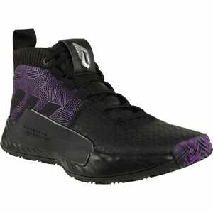 adidas Dame 5   Mens Basketball Sneakers Shoes Casual   - Black