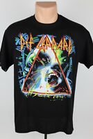 Vintage Def Leppard 1980s Hysteria Tour L Graphic Single Stitch Band T Shirt USA