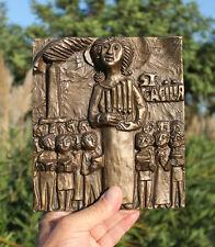 Saint Cecilia, patroness of musicians, organs music, Germany, Weinert