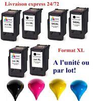 Cartouches encre compatibles Canon  pixma PG CL 512 513 540 541 545 546 XL 48 H!