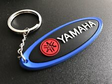 Yamaha Keychain Blue Black White & Red. New As Pictures