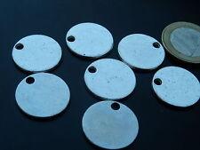12 Colgantes pequeños Zamak,Grabar, abalorios, pendant, pendentif, anhänger