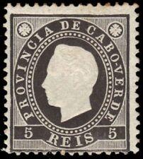 "CAPE VERDE 15a (Mi15) - King Luiz Definitive ""Perf 12.5 x 12.5"" (pa74972)"