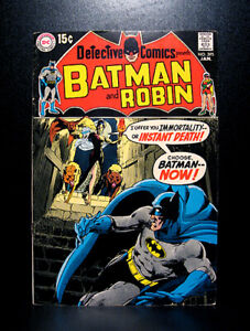 COMICS: Detective Comics #395 (1970), 1st Dennis O'Neil/Neal Adams Batman story