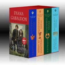 Outlander Ser.: Outlander 4-Copy Boxed Set : Outlander, Dragonfly in Amber, Voyager, Drums of Autumn by Diana Gabaldon (2015, Mass Market / Mass Market)