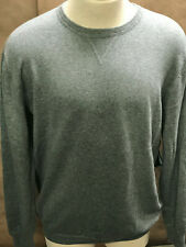 LinkSoul Men's Sweater Grey Size L Cotton/Cashmere NWT Reg:$125