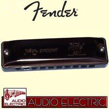 Fender John Popper Signature Mund-Harmonika D-Dur