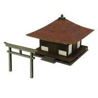 Paper Craft Sankei MP01-90 Temple Japonais / Japanese Temple 1/220 - Z