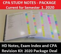 CPA Ethics and Governance HD Notes, Exam index and Bonus CPA Revision PACKAGE