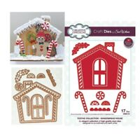 Christmas Gingerbread House Metal Die Cut Creative Expressions Cutting Dies