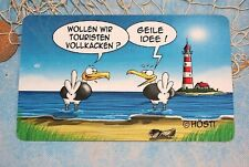 """Frühstücksbrett  Hösti Möwen ...""""Wollen Wir Touristen Vollkacken?"""" """"Geile Idee!"""""""