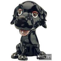 Little Paws Black Labrador Jewellery Trinket Box NEW  in Gift box - 21160