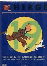 Hergé Werkausgabe 19 blau TIM und STRUPPI Stups Steppke COMIC 60er Carlsen OVP