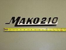 "Mako Boat Emblem - Large Size 3"" high - any Mako model available (PAIR)"