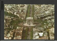 Vintage Real Photo Postcard General View  L'Arc de Triomphe posted 1970