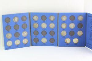 BENJAMIN FRANKLIN HALF DOLLAR COLLECTION, 90% Silver, 20 coins in Whitman Folder