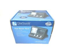 Clearsounds CR200 ClearRing Amplified Telephone Ring Signaler System NEW
