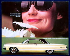 Prospekt brochure 1965 Chrysler Newport 2-Door Hardtop Daffodil (USA)