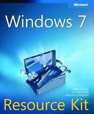 Good, Windows® 7 Resource Kit, Tony Northrup, Jerry Honeycutt, Mitch Tulloch, Bo