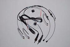 2x Black Headset Microphone Sennheiser EW SK EK Wireless beltpack Transmitter