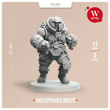 Unstoppable Brute 28mm wargaming and collectible miniature by Artel W