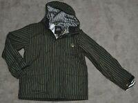 Shaun White The White Collection by Burton Green Striped Snowboard Jacket & Vest
