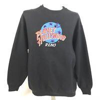 Planet Hollywood Mens Crewneck Sweatshirt Reno Streetwear Vintage 90s XL