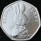 Beatrix Potter 50p Coins Jemima Puddle-Duck, Peter Rabbit 16,17,18,19 & 20