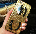 Fashion 3D Bling Sparkly Big Eyes Hard Back Phone Case Cover For iPhone 7 7 Plus