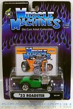 1932 '32 FORD COUPE ROADSTER 02-50 DIECAST MUSCLE MACHINES FUNLINE