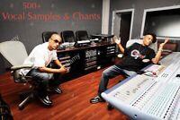SOUTHERN RAP CHANTS TRAP Hip Hop VOCAL SAMPLES VOICE SOUNDS KIT MPC  Logic Pro X