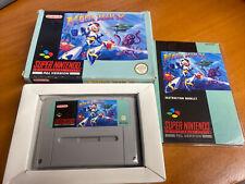 Mega Man X MegaMan Snes Super Nintendo Boxed PAL CIB