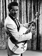 V4678 Chuck Berry Suit Guitar BW Amazing Retro Singer Decor PRINT POSTER Affiche