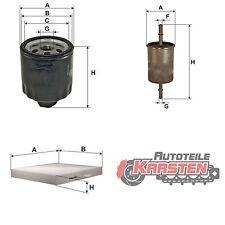 Set M: Ölfilter+Kraftstofffilter+Innenraumfilter Filterset SEAT SKODA VW AUDI