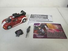 HASBRO - TRANSFORMERS - BOTCON 2008 - SHATTERED GLASS - RICOCHET - COMPLETE
