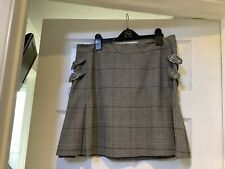 Ladies Mexx Checked Skirt Size 14