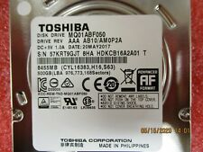 "New - Toshiba - MQ01ABF050 - HDD, 2.5"" 7MM 500GB 5.4RPM SATA 512E"